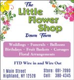 The Little Flower Shop Down Town
