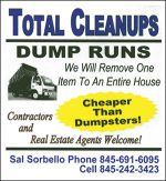 Total Cleanups